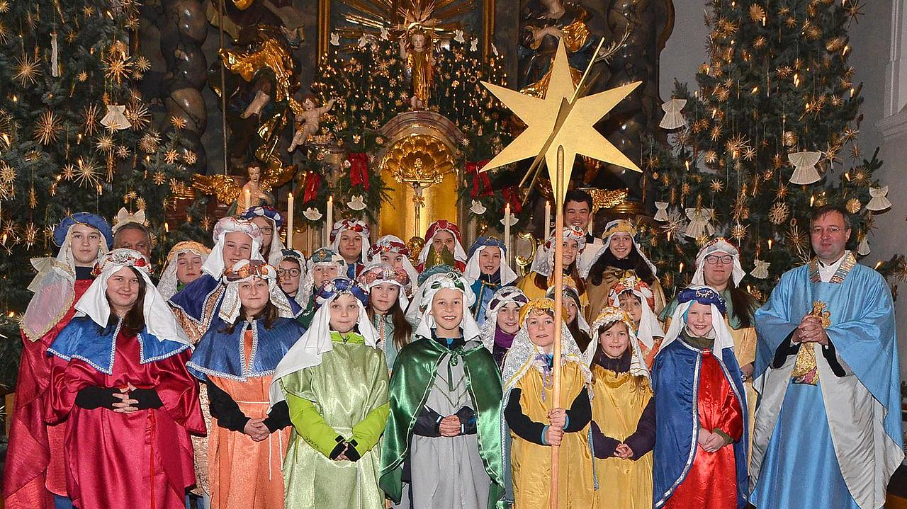 Sternsinger 2018 in Allersberg